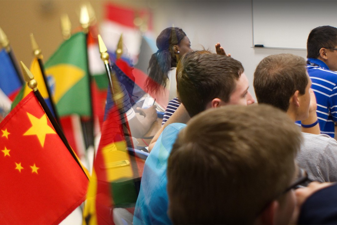 top countries with most international students