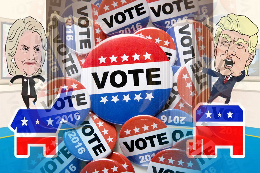 selected candidates selected for US election 2016