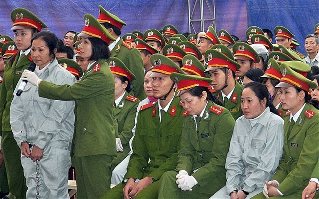 death penalty in Vietnam for drugs