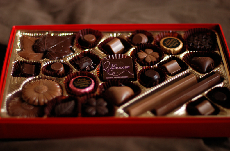 valentines chocolate gift for men