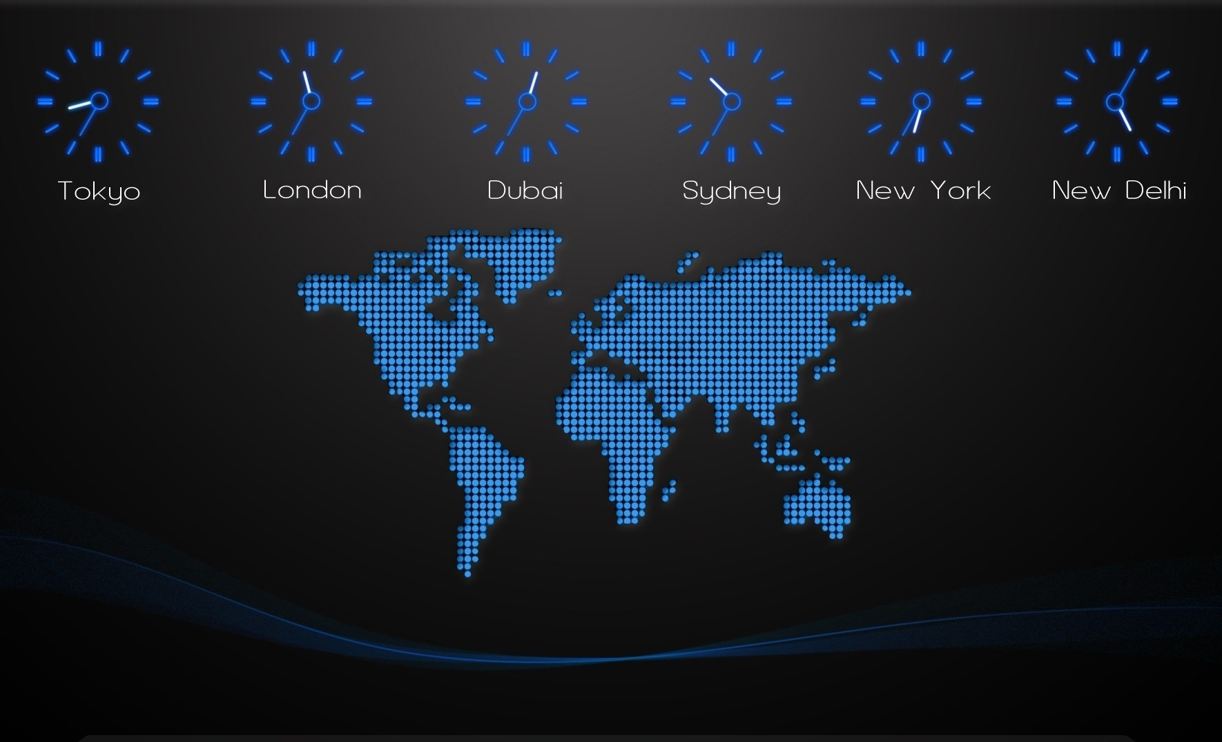 top countries with most time zones