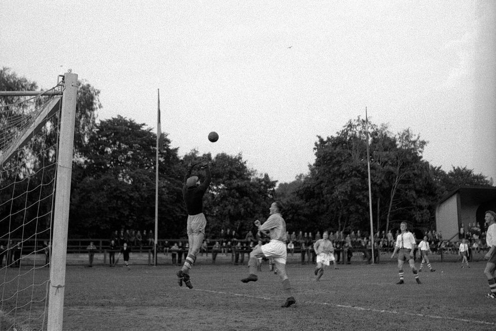 football in vintage